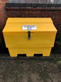 Installation of new grit bins